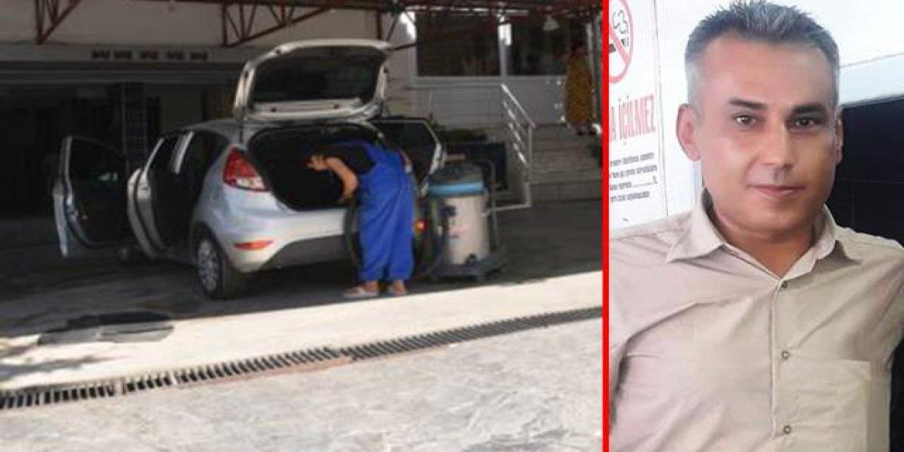 Otomobil tamircisi çamaşır suyuyla aracını yıkadıktan sonra fenalaşıp öldü